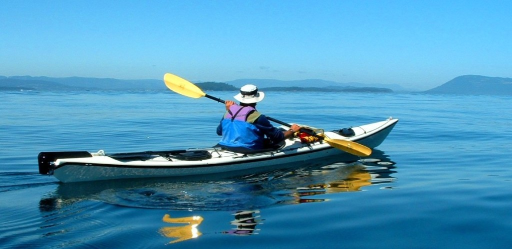 Beautiful Day for a Sea Kayaking Class