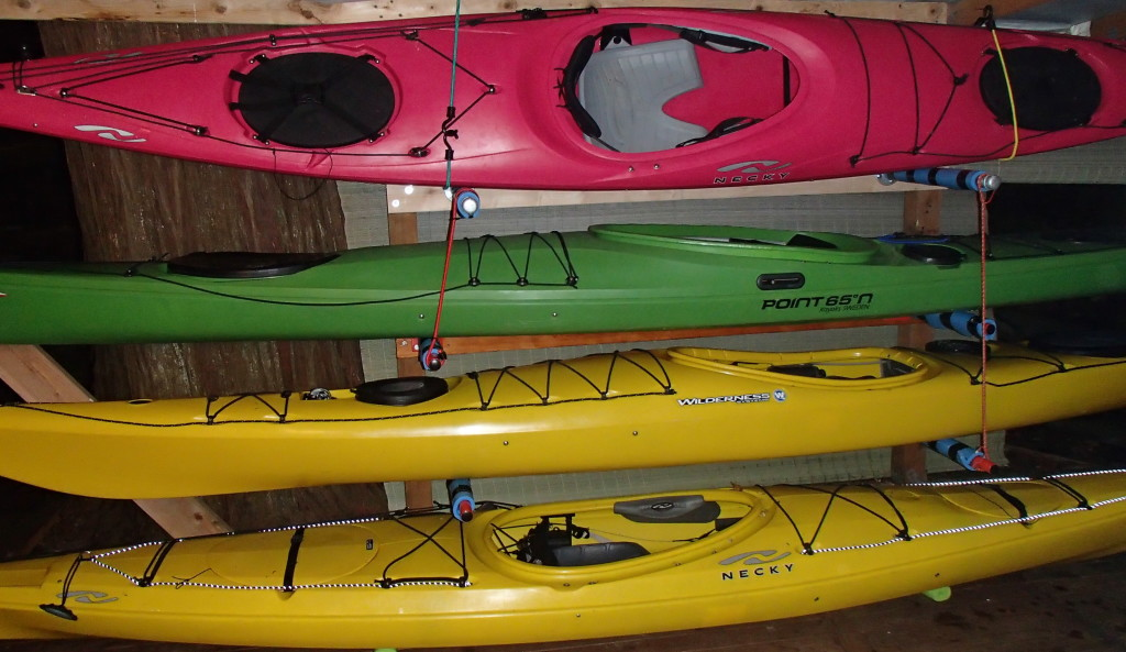 "Part of the ""Fleet"" - Student Boats"