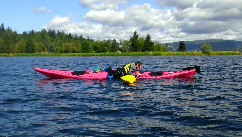Paddle Float Self Rescue - Sea Kayak Rescues