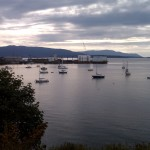 Bellingham Dry Dock and Lummi Island in the Distance